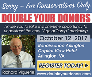 Sign up for the Double Your Donors seminar October 12
