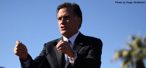 Mitt Romney speaking