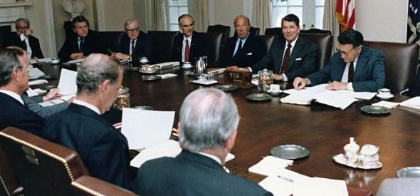 Reagan cabinet