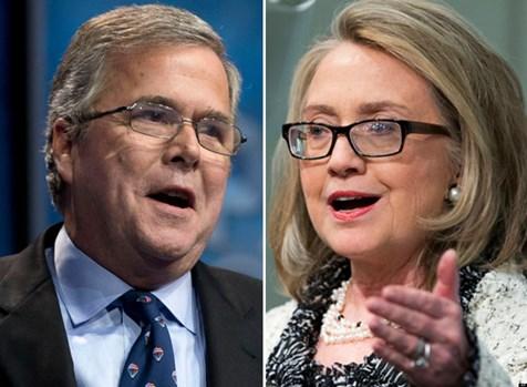 Jeb and Hillary