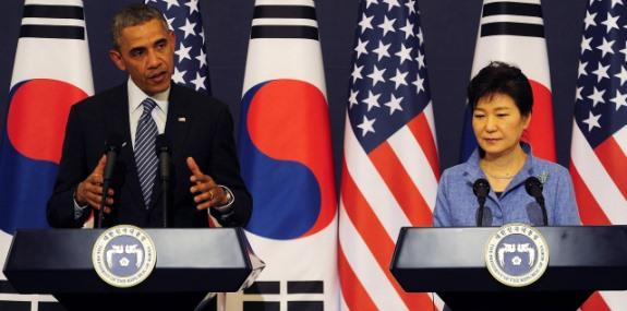 Obama Korea