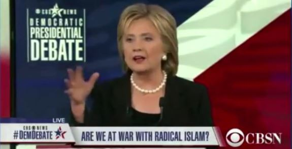 Hillary Radical Islam