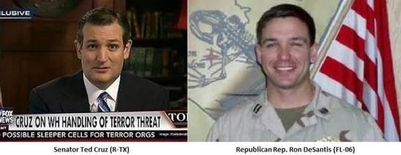 Ted Cruz and Ron DeSantis