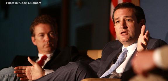 Ted Cruz and Rand Paul