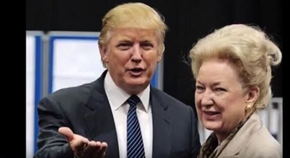 Trump and sister