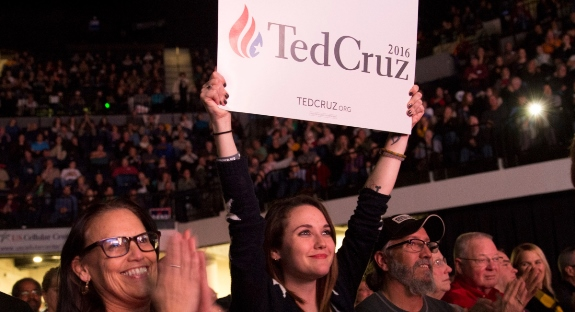 Ted Cruz supporters