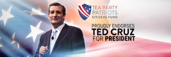 Tea Party Patriots Endorse Ted Cruz