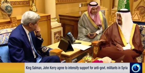 John Kerry Saudis