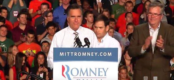 Marco Rubio Mitt Romney