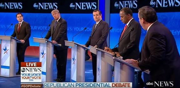 ABC Republican debate