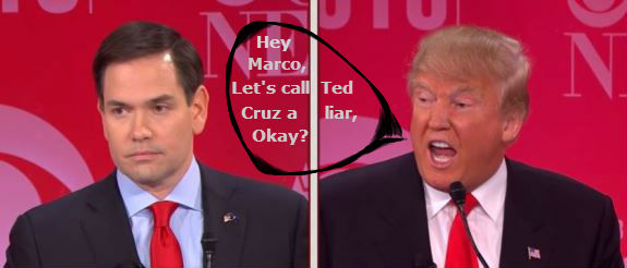 Trump and Rubio