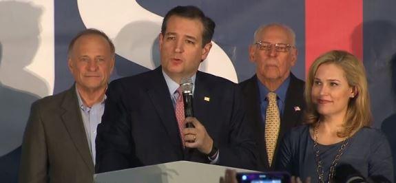 Ted Cruz victory