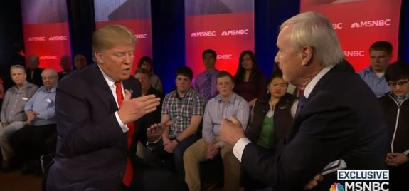 Donald Trump Chris Matthews