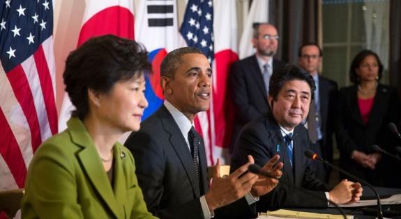 South Korea Japan Obama