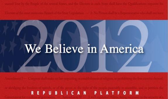 Republican platform