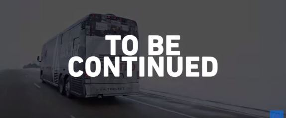 Ted Cruz bus