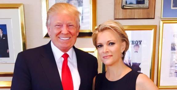 Trump and Megyn