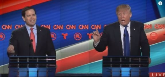 Donald Trump and Marco Rubio