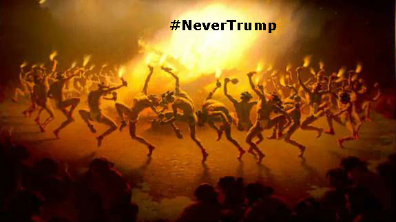#NeverTrump dance