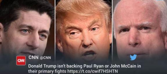 Trump Ryan McCain