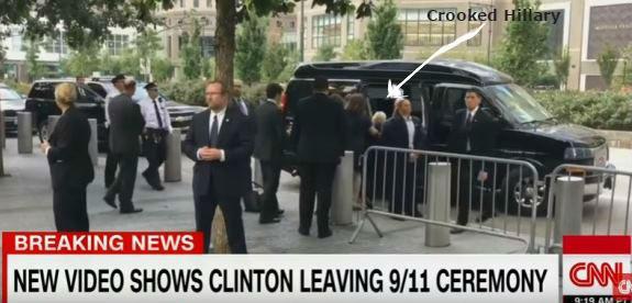 Hillary stumble