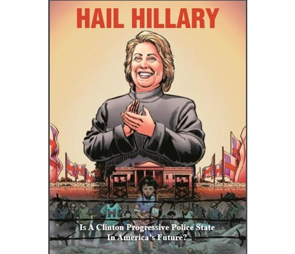 Hail Hillary Cover