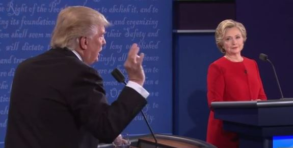 Trump Clinton debate