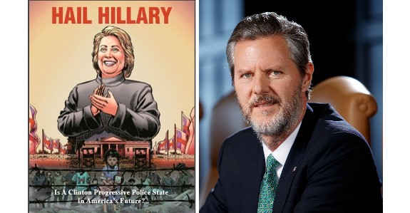 Jerry Falwell Jr. Hail Hillary