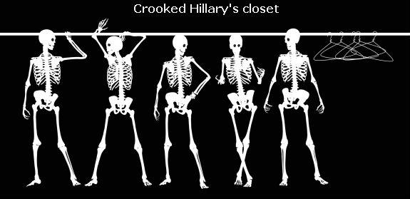 Hillary's closet