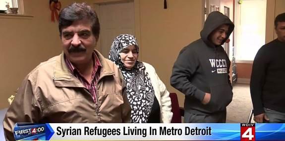 Syrian refugees Michigan