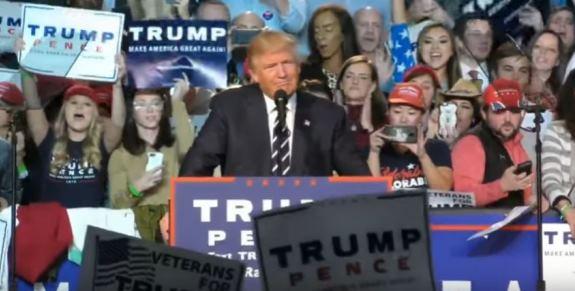 Trump last rally