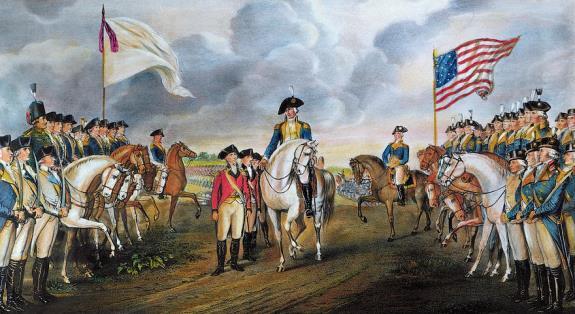 Yorktown surrender