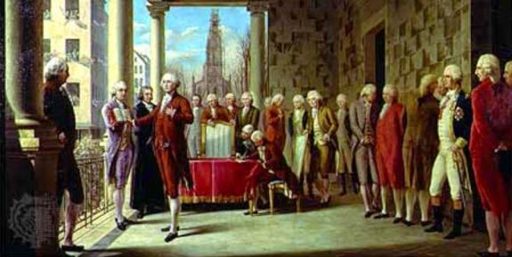 Washington's First Inaugural