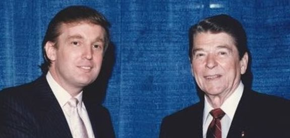 Trump and Reagan