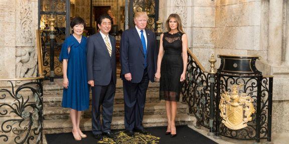 Trump Abe