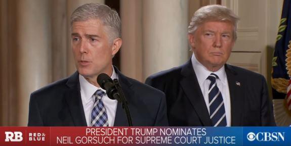 Gorsuch Trump