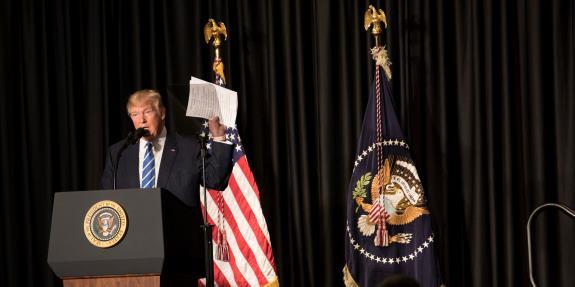 Trump Marching Orders