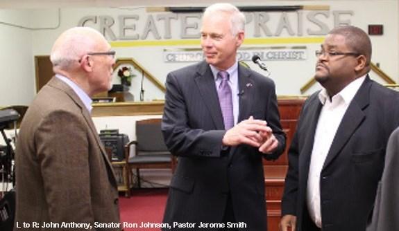 Sen. Ron Johnson, Jerome Smith,
