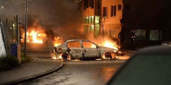 Muslim riots Sweden