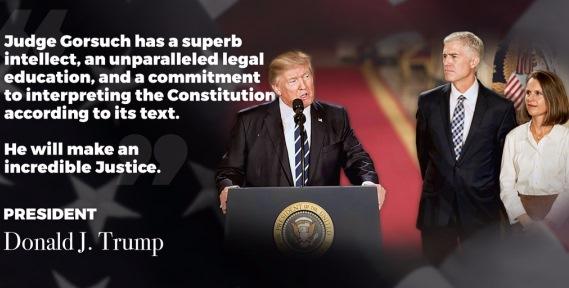 Trump Gorsuch