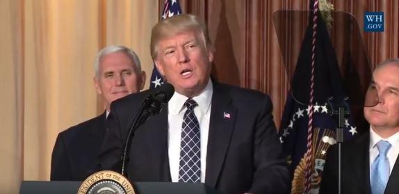 Trump energy speech