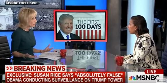 Susan Rice Andrea Mitchell