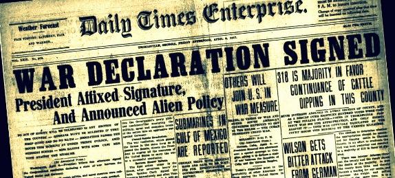 WWI Declaration
