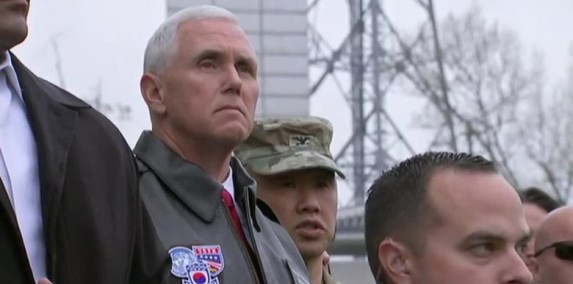 Mike Pence DMZ