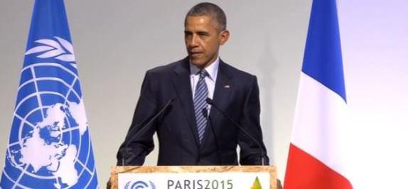 Obama Paris climate
