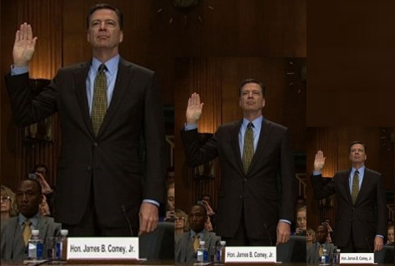 James Comey shrinking