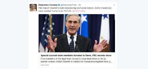 Conway tweet