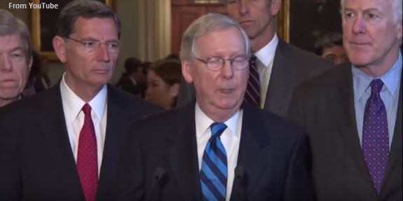 McConnell blinks