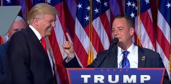 Trump and Priebus