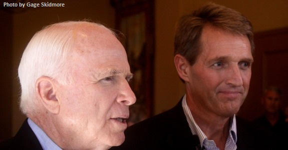 Flake and McCain